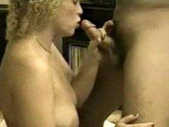 Wife engulfing cock